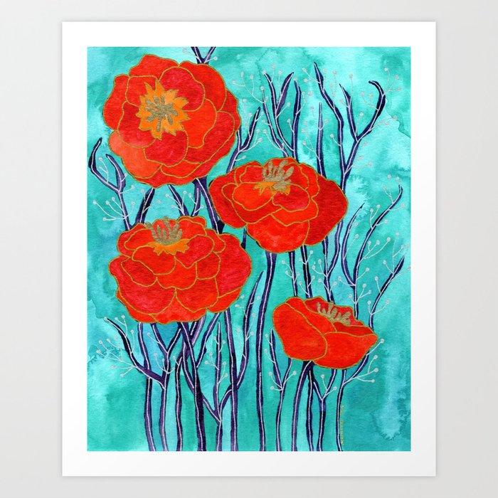 Seraphina Art Print