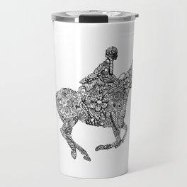 Horse Rider Travel Mug