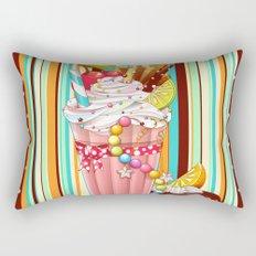 Milkshake Sweetheart Rectangular Pillow