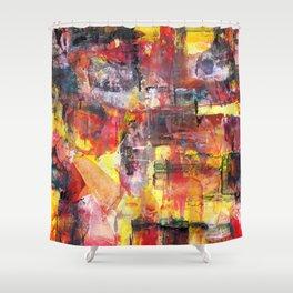 Saturday Night Shower Curtain