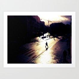 After the rain Art Print