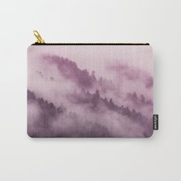 Purple Haze in the Smokey Mountains Carry-All Pouch