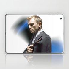 Daniel Craig as James Bond Laptop & iPad Skin