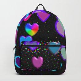 Confetti Hearts Backpack