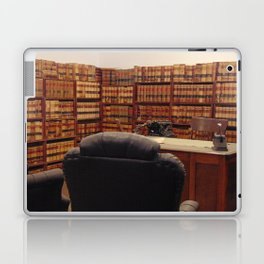 Laying down the Law Laptop & iPad Skin
