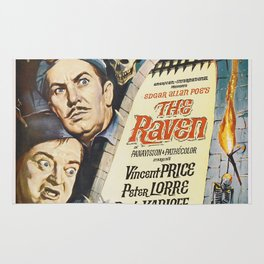 Vintage Classic Movie Posters, The Raven Rug