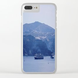 Santorini, Greece 8 Clear iPhone Case