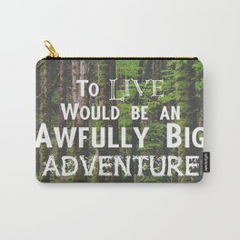 Peter Pan and Forrest Lands Carry-All Pouch