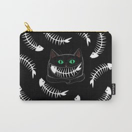 Fish Eating Grin Carry-All Pouch