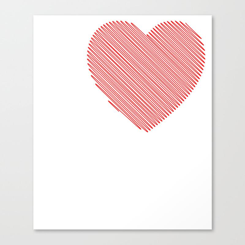 I Love Midget Porn I Heart Midget Porn Funny T Shi… Canvas Print by Merchtrending CNV8855485