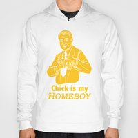 lakers Hoodies featuring Chick is my Homeboy! by GOGILAND