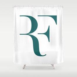 Roger Federer Logo Shower Curtain