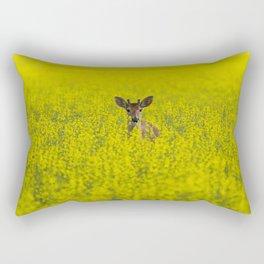 Buck in Canola Rectangular Pillow