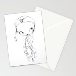 Waiting for something... Stationery Cards