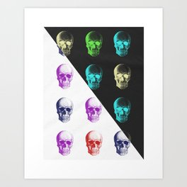 In Two Minds Art Print