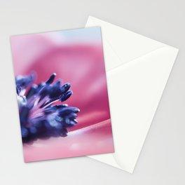 flower purple Stationery Cards
