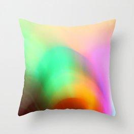 """glow"" Throw Pillow"