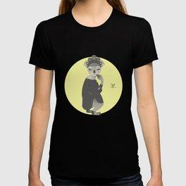 Animal Fashion: K is for Koala that wears a Russian kokoshnik, a kaftan and krepis shoes. T-shirt