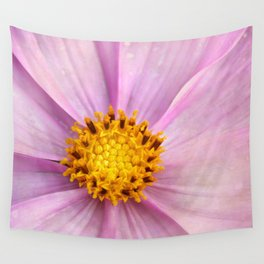 Pink Cosmo Wall Tapestry