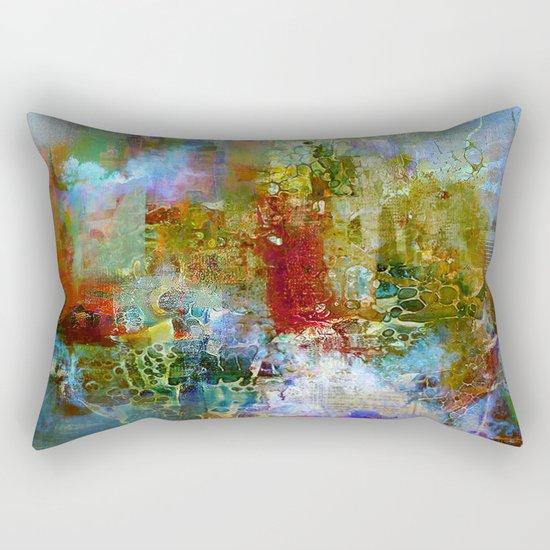 A contemporary place Rectangular Pillow