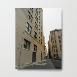 Another Alley Metal Print