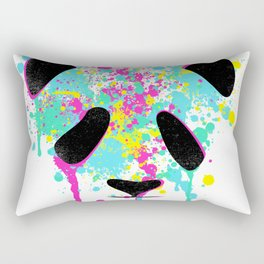Panda Soul watercolour / watercolor animal t shirt, animal print t shirt, wildlife t shirt Rectangular Pillow