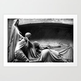 Closer - Joy Division Art Print