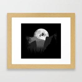 Moon Jump Framed Art Print