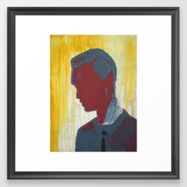 effective exsistance Framed Art Print