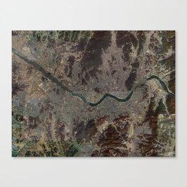 Seoul Korea Canvas Print
