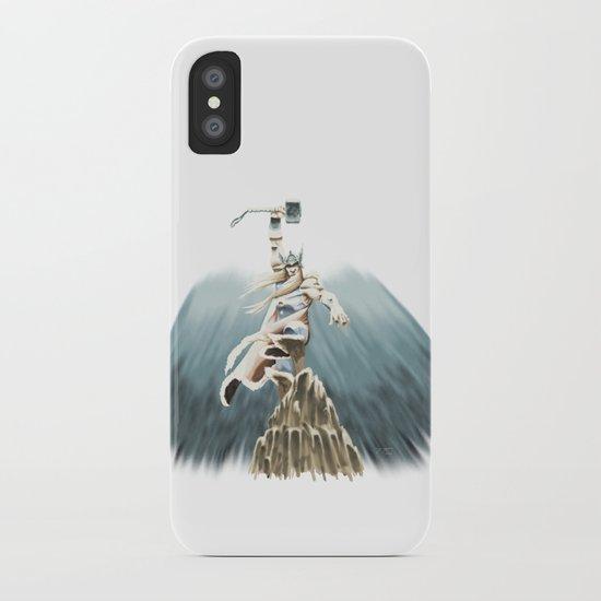 THOR: Bring the Thunder! iPhone Case