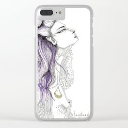 Start Over Clear iPhone Case