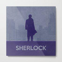 Sherlock 02 Metal Print