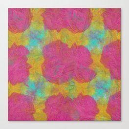 Abstract Tie Dye #13 Canvas Print
