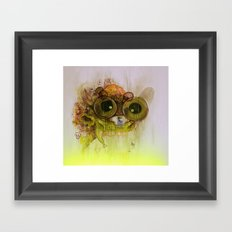 Weedy Playstation Frankenstein Framed Art Print