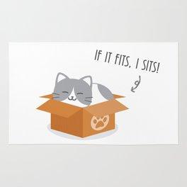 If It Fits, I Sits! Rug