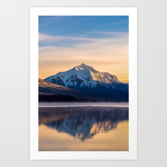 The Rising Mountain Art Print