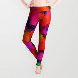 Bright Rainbow Colors Leggings