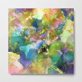 Hibiscus Trumpets #2 Metal Print