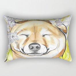 Jay Jay the happy Shiba Rectangular Pillow