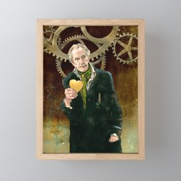 The Inventor Framed Mini Art Print