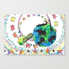 Earth Beetle Canvas Print