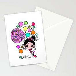 why why why Stationery Cards
