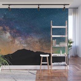 Mountain Galaxy (Color) Wall Mural