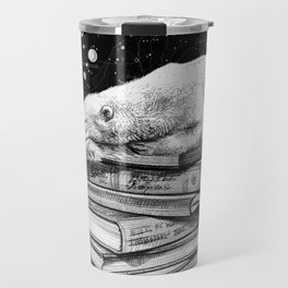 Cosmic Polar bear Travel Mug