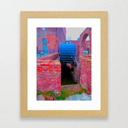 ironworks 3 Framed Art Print
