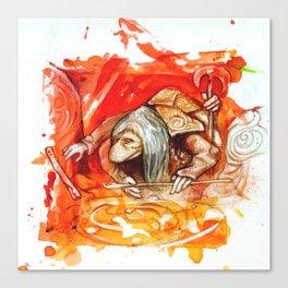DARK CRYSTAL - UR-RU Canvas Print