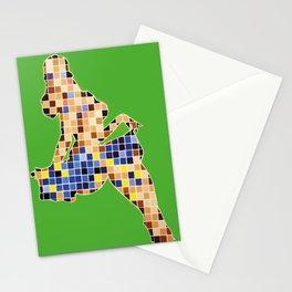 Pixelated Pin Up- Chun-Li Fan Art Stationery Cards