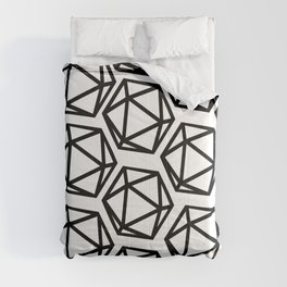 D20 Pattern Large Comforters