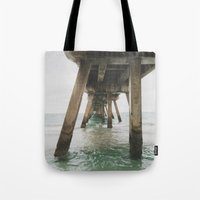 boardwalk empire Tote Bags featuring Boardwalk. by marksej
